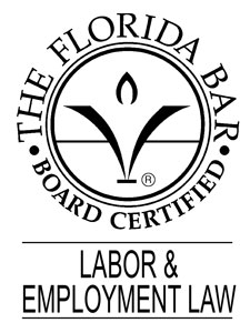 Florida Bar Board Certifed Labor and Employment Law